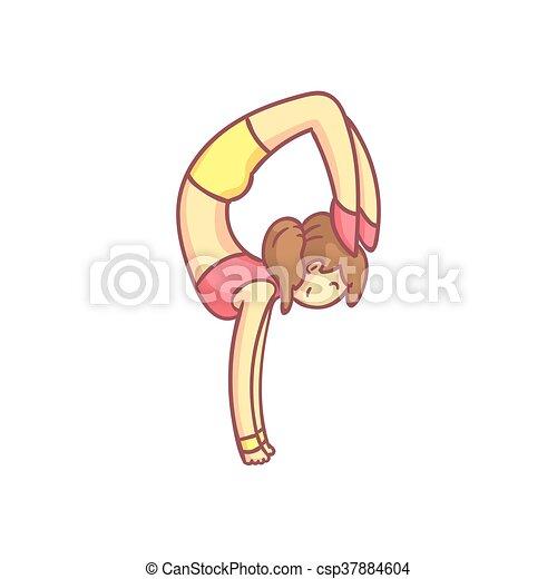 Woman Doing Advanced Hand Stand Yoga Pose