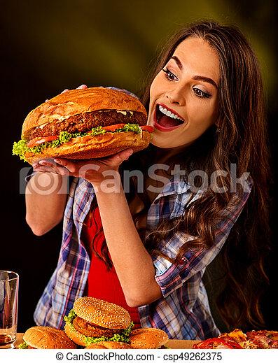 Was mistake girl eating food