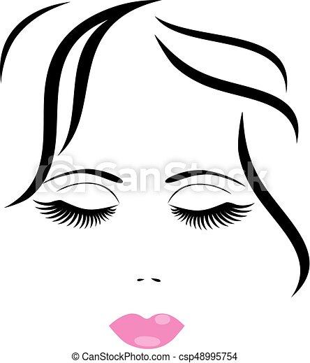 woman face - csp48995754
