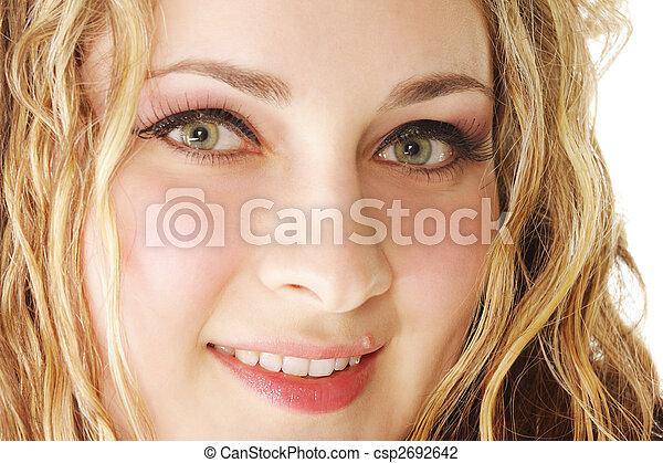 Woman face - csp2692642