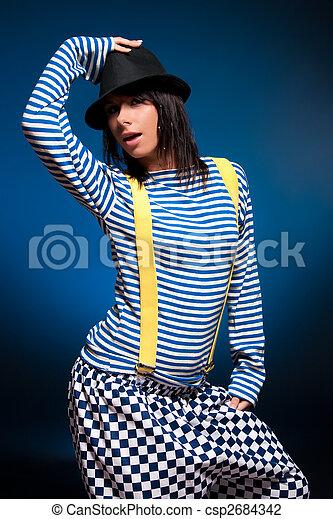 Woman fashion portrait - csp2684342
