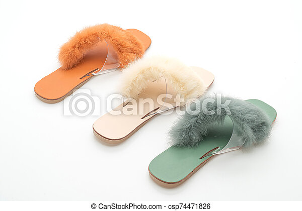 woman fashion shoes or sandals - csp74471826