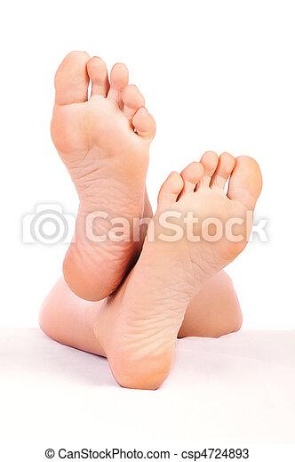 Woman feet - csp4724893