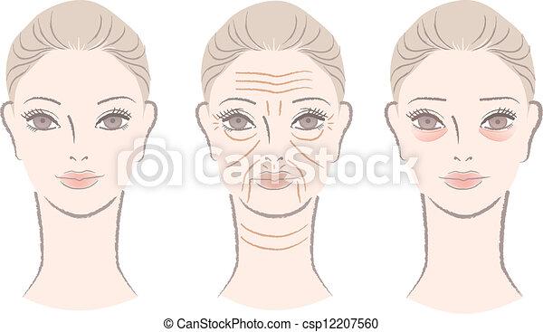 Clip Art Wrinkled