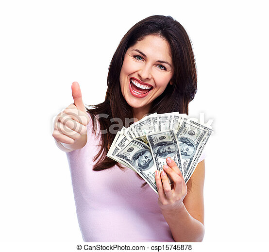 woman holding money picture csp15745878 All mail Order New bride Collection
