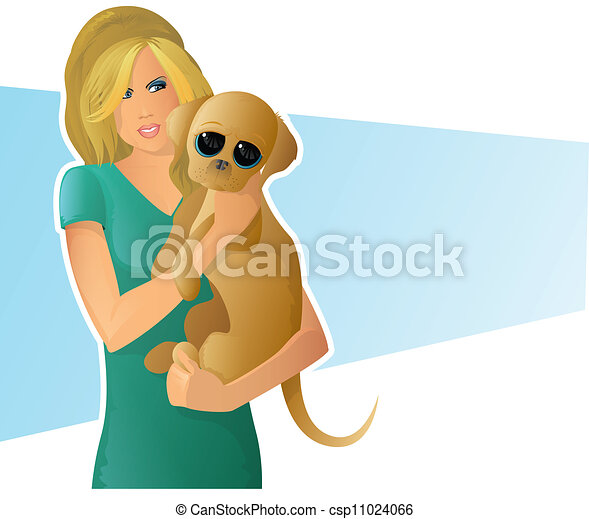 woman holding puppy cartoon of a cute girl carrying a dog clip art vector search drawings and Veternarian Dog Clip Art Old Dog Clip Art