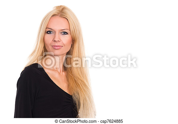 woman in dress - csp7624885