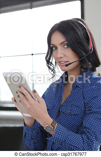 Woman in the office - csp31767977