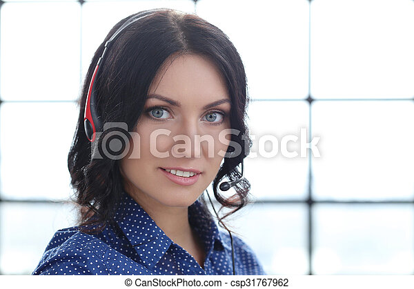 Woman in the office - csp31767962