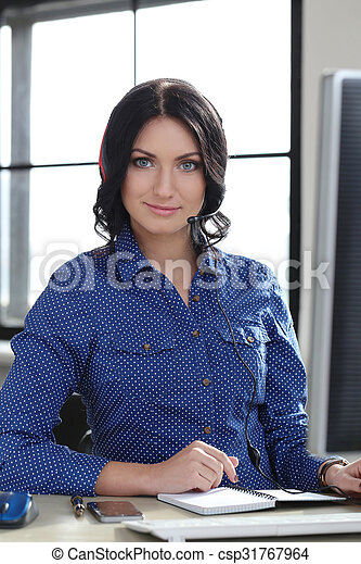 Woman in the office - csp31767964