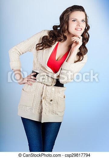 Woman is posing - csp29817794