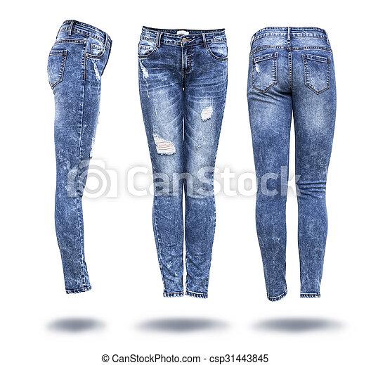 woman jeans  - csp31443845