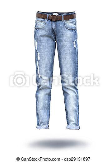 woman jeans  - csp29131897