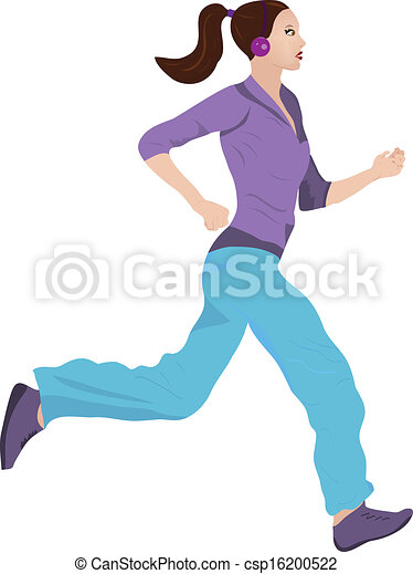 Woman Jogging - csp16200522