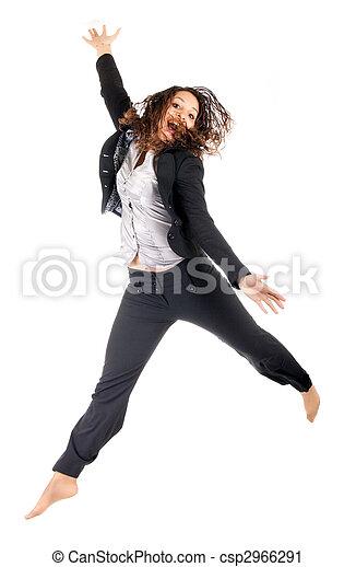 woman jump - csp2966291