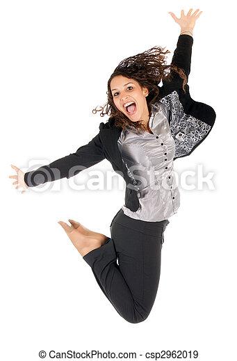 woman jump - csp2962019