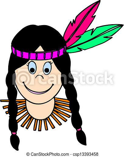 woman native american indian clipart vector search illustration rh canstockphoto com native american indian clipart american indian patterns clipart