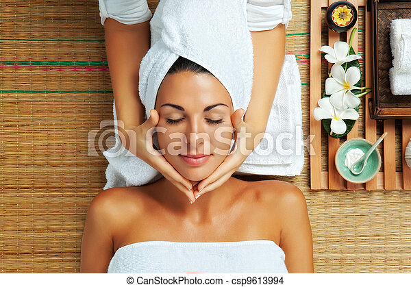 woman on spa - csp9613994