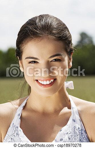 woman outdoor - csp18970278