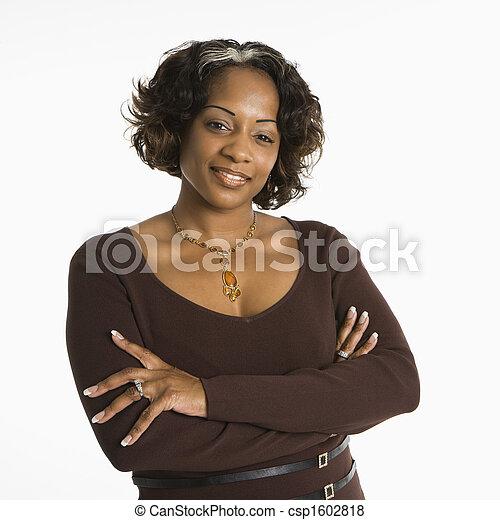 Woman portrait. - csp1602818