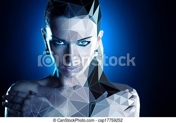 Woman portrait - csp17759252