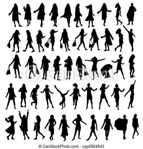 Dessiner Une Silhouette De Femme dessin silhouette femme - routeur hadopi
