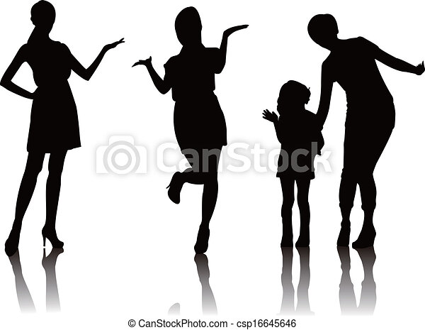 woman promote silhouette woman model promoter mother girl figure skating clipart png ice skating clipart black and white