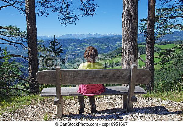 woman relaxing - csp10951667