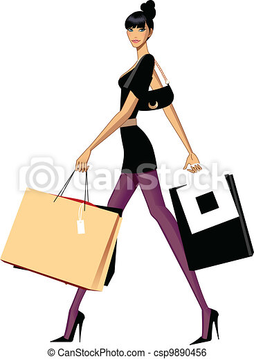 woman shopping there is a girl carrying few shopping bags woman shopping clipart free woman with shopping cart clipart