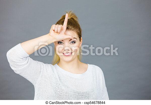 loser gesture