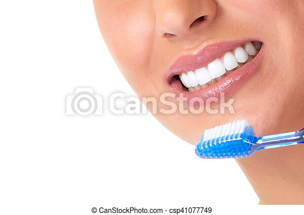 Woman smile. - csp41077749