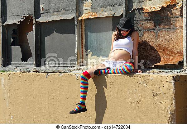 woman  - csp14722004