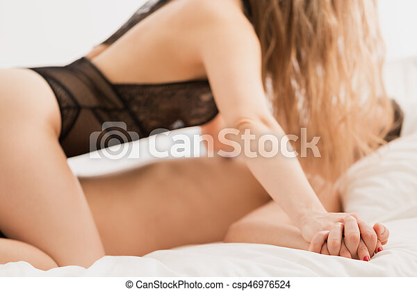 Sexy women in the bed