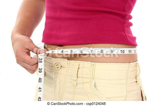 Woman Teen Weight - csp0124048
