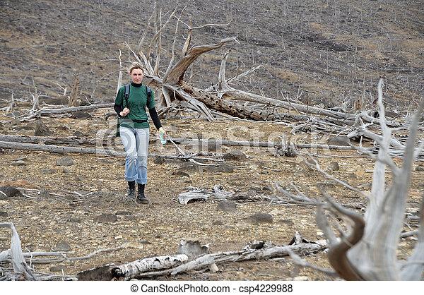 woman, wandert - csp4229988