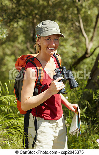 woman, wandert - csp2045375