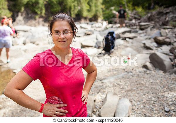 Frauen wandern - csp14120246