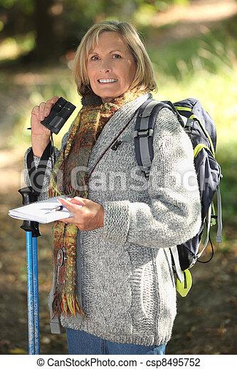 woman, wandert - csp8495752