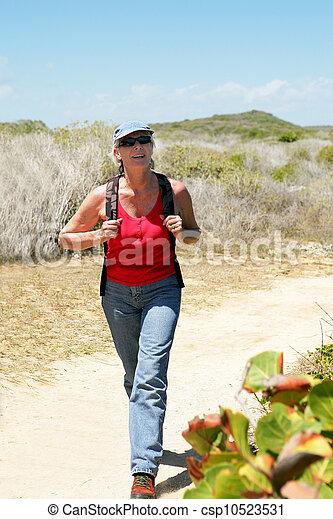 woman, wandert - csp10523531