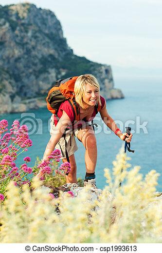 woman, wandert - csp1993613