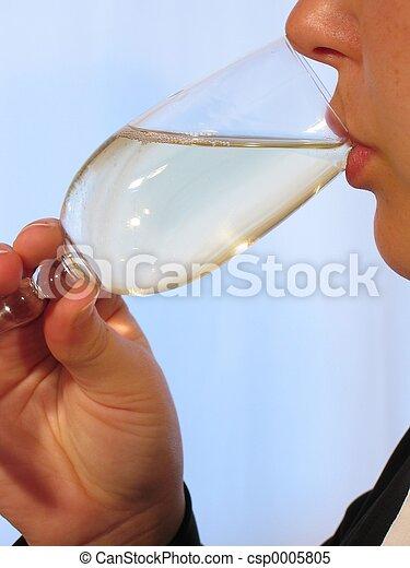 Woman Wine II - csp0005805