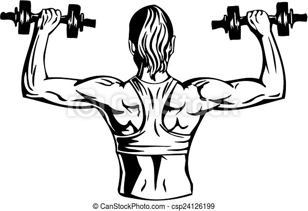 Woman With Dumbbells Fitness Vector Illustration Woman With Dumbbells Fitness Traning Vector Illustration Canstock Woman with fox free vector. https www canstockphoto com woman with dumbbells fitness vector 24126199 html
