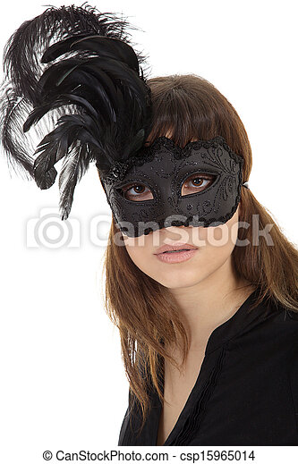 woman with mask - csp15965014