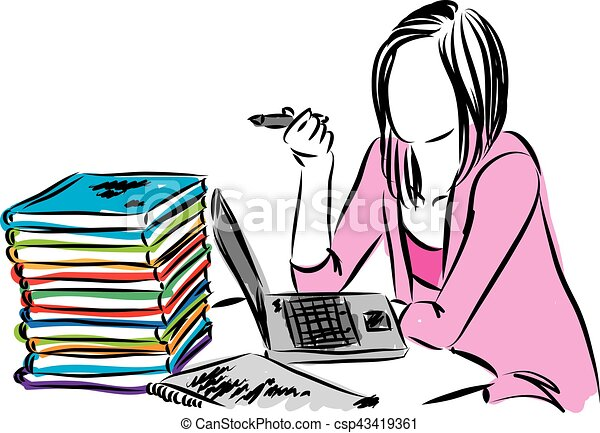 woman working vector illustration clip art vector search drawings rh canstockphoto com working clipart images walking clipart small