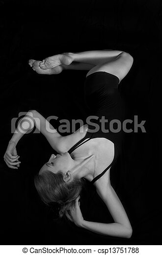 Woman's body - csp13751788
