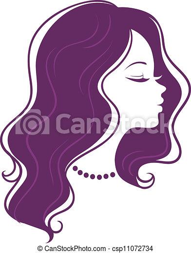 Woman's silhouette - csp11072734