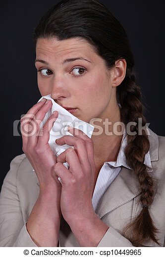 Women allergic - csp10449965