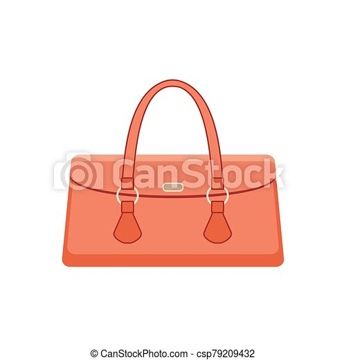 Women bag on a white background - csp79209432