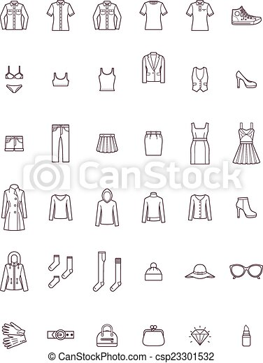 Women clothes set - csp23301532