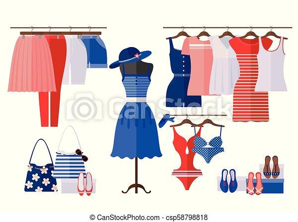 fashion shopping and women
